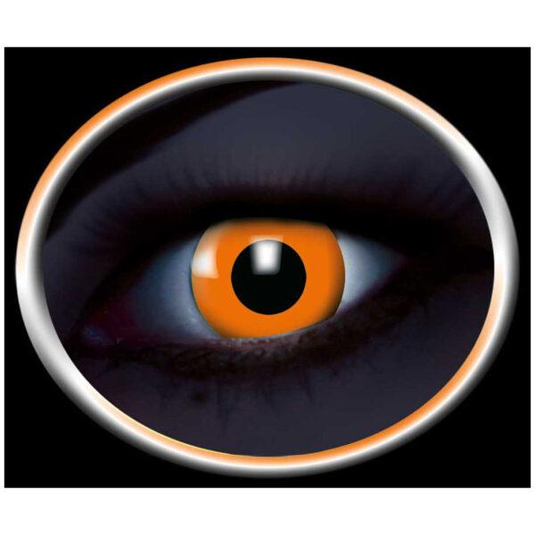 Lenti a contatto glow-Arancio