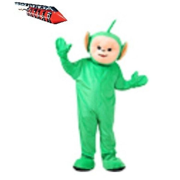 Mascotte Folletto Verde