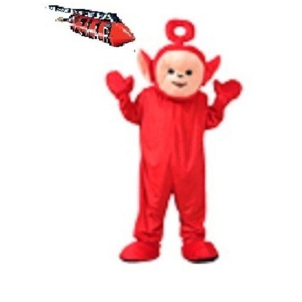 Mascotte Folletto Rosso
