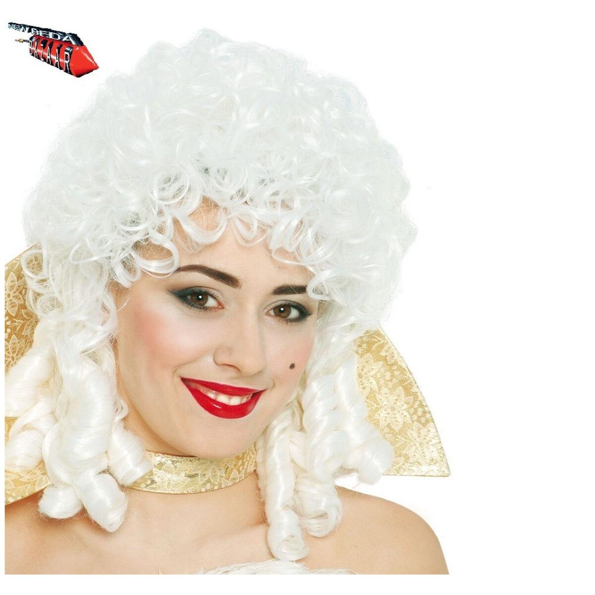Parrucca Bianca Antonietta