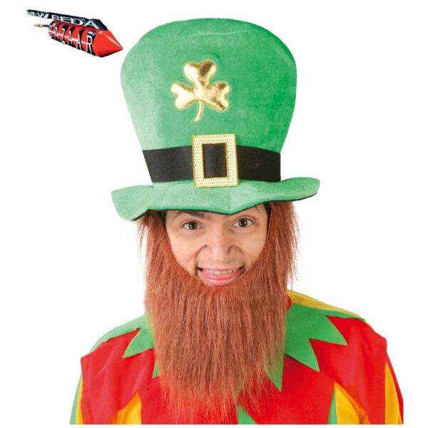Cappello elfo irlandese con barba