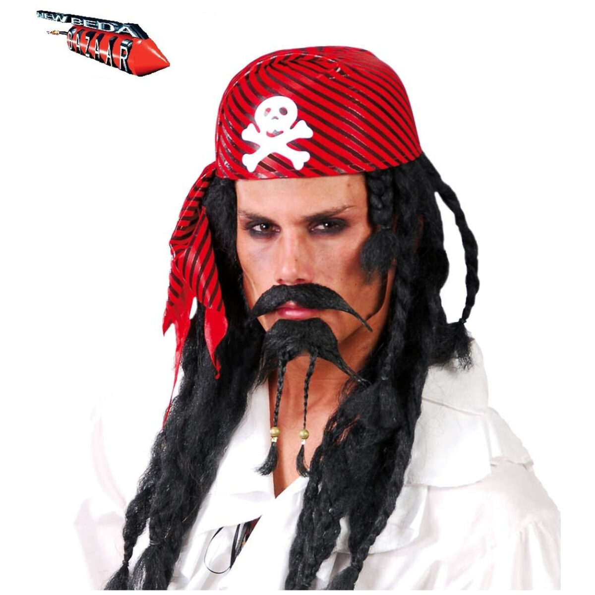 Bandana rigida pirata
