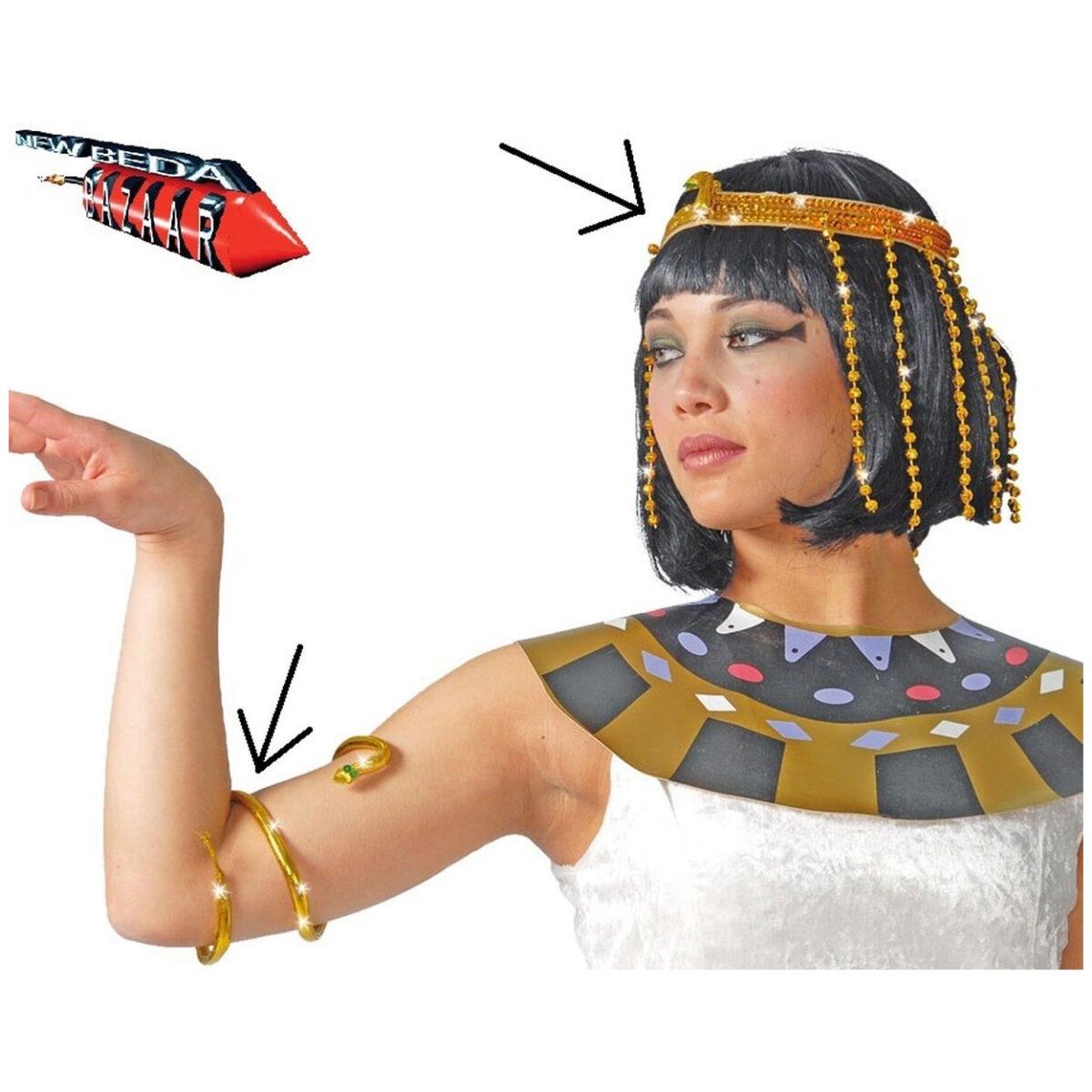 Copricapo e bracciale cleopatra