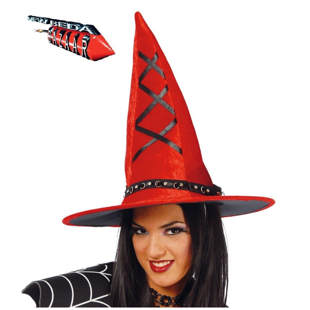 Cappello strega rosso