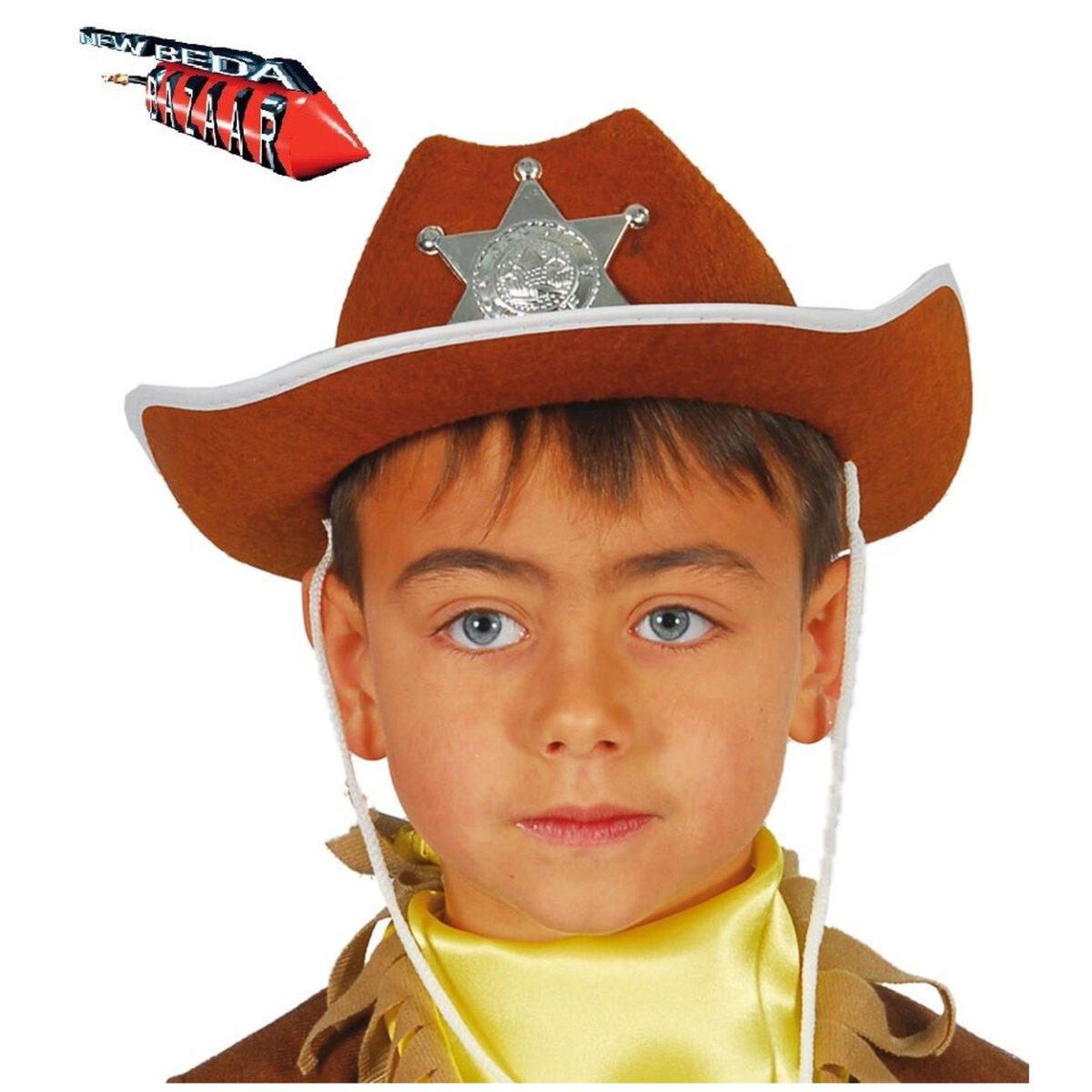 Cappello sceriffo bimbo