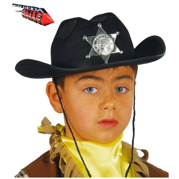 Capello nero sceriffo