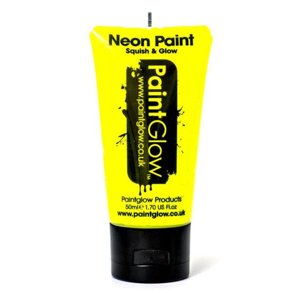 Trucco UV-Glow Giallo 50 ml.